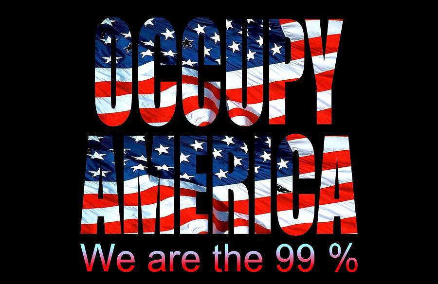 """Ocupe a América: Somos os 99%"""