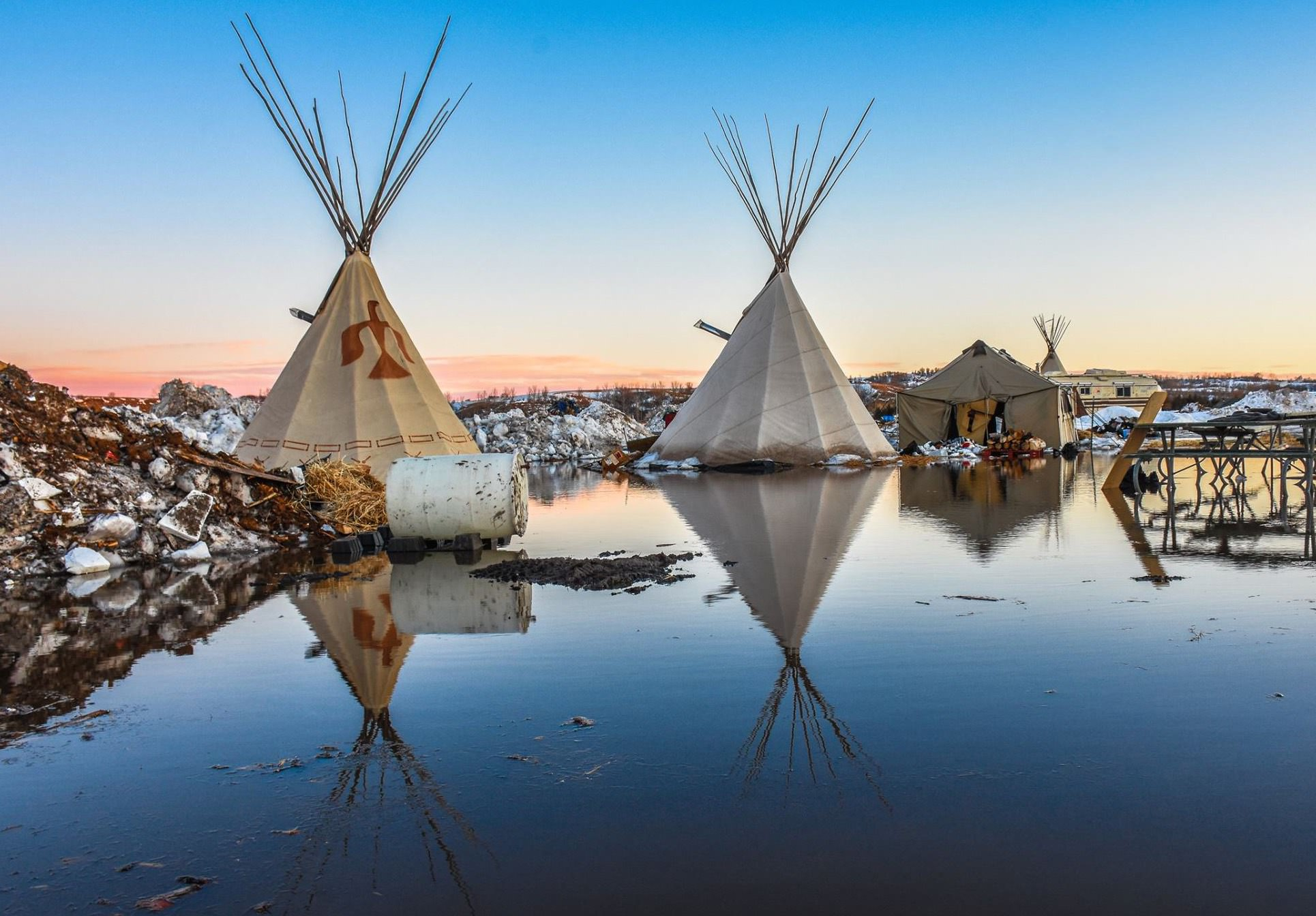 The eviction of the Standing Rock camps