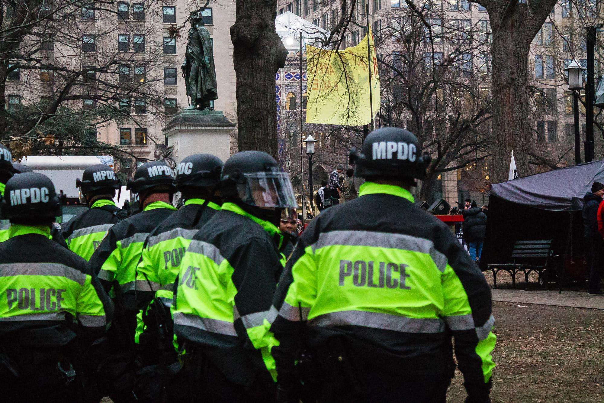 J20 police repression