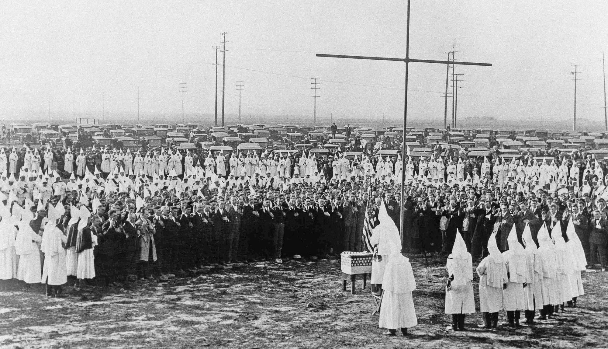 Nativism. KKK rally.