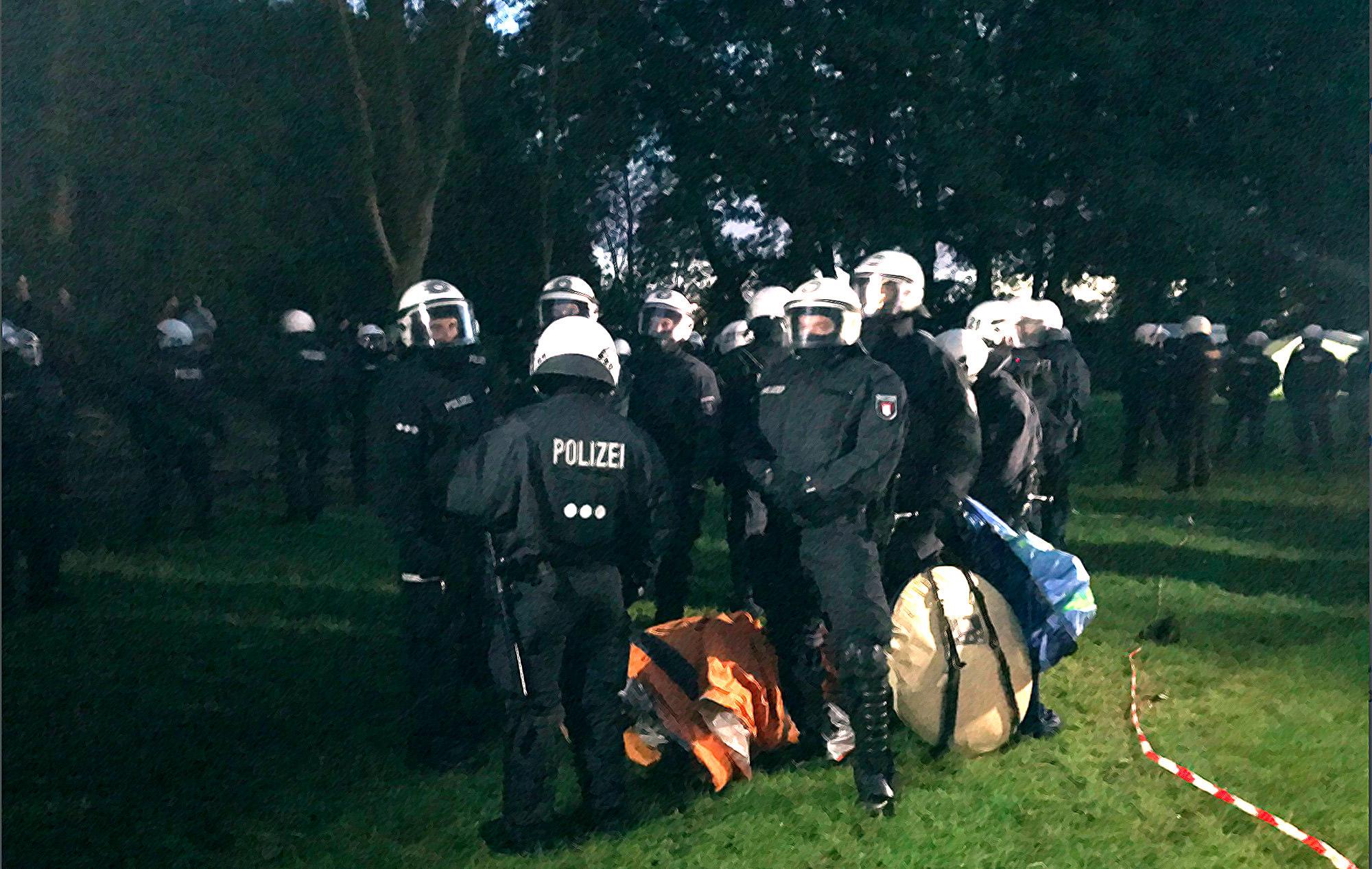 G20 camp raid