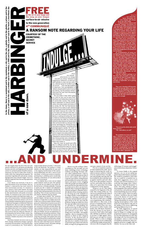 Photo of 'Harbinger 4' front cover