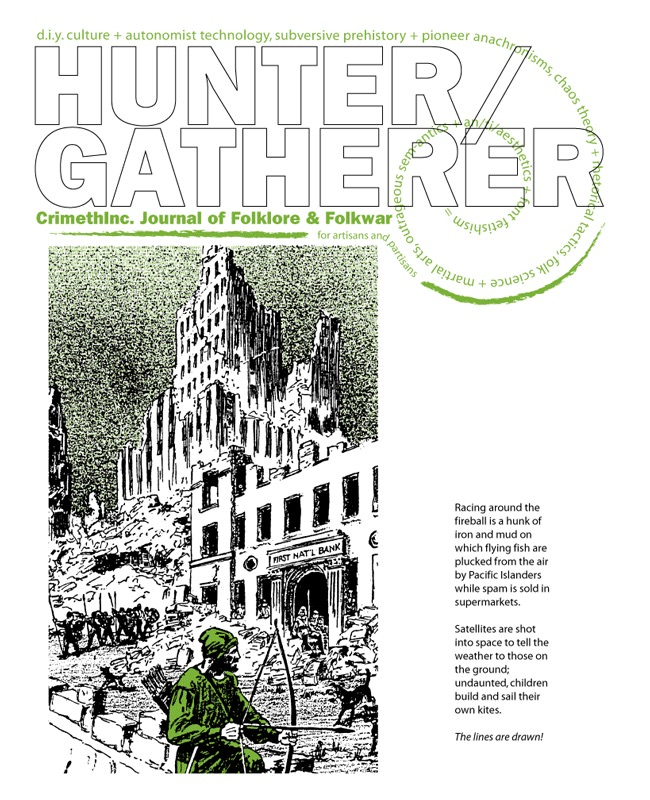 Photo of 'Hunter/Gatherer #1' front cover