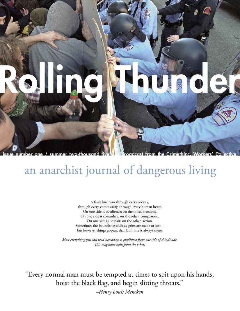 Photo of 'Rolling Thunder #1' front cover