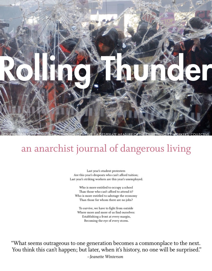 Photo of 'Rolling Thunder #10' front cover
