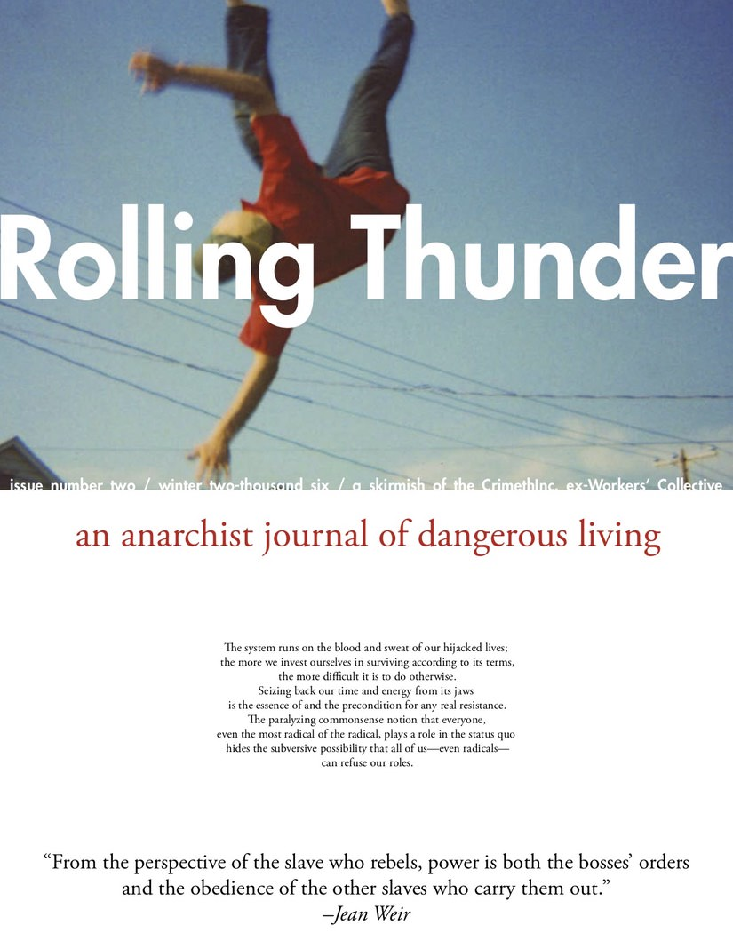 Photo of 'Rolling Thunder #2' front cover