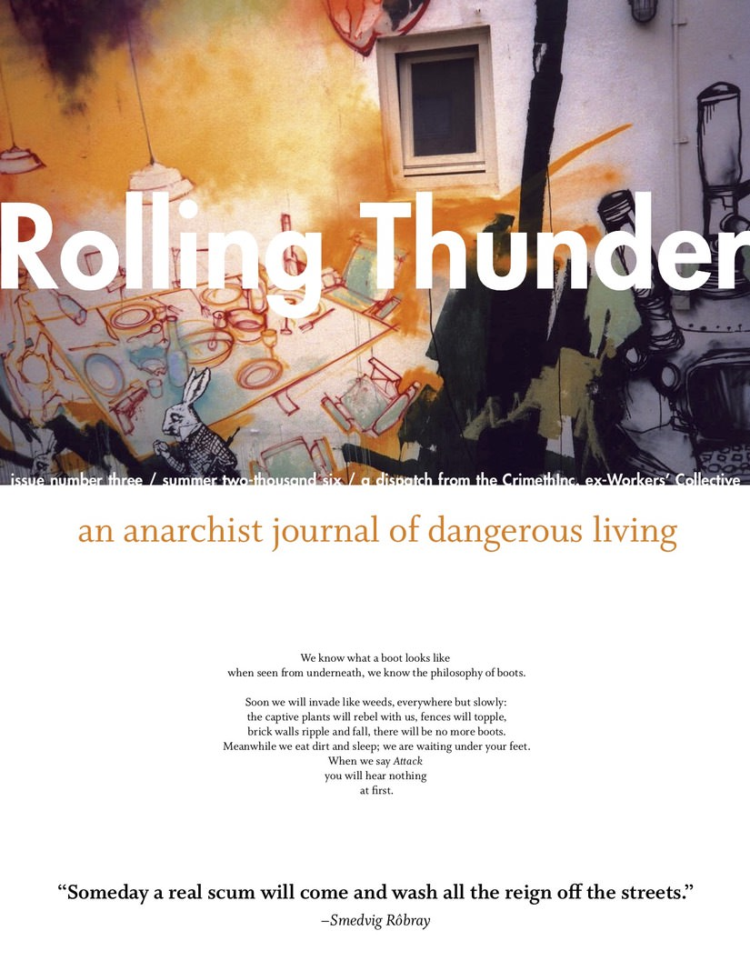 Photo of 'Rolling Thunder #3' front cover