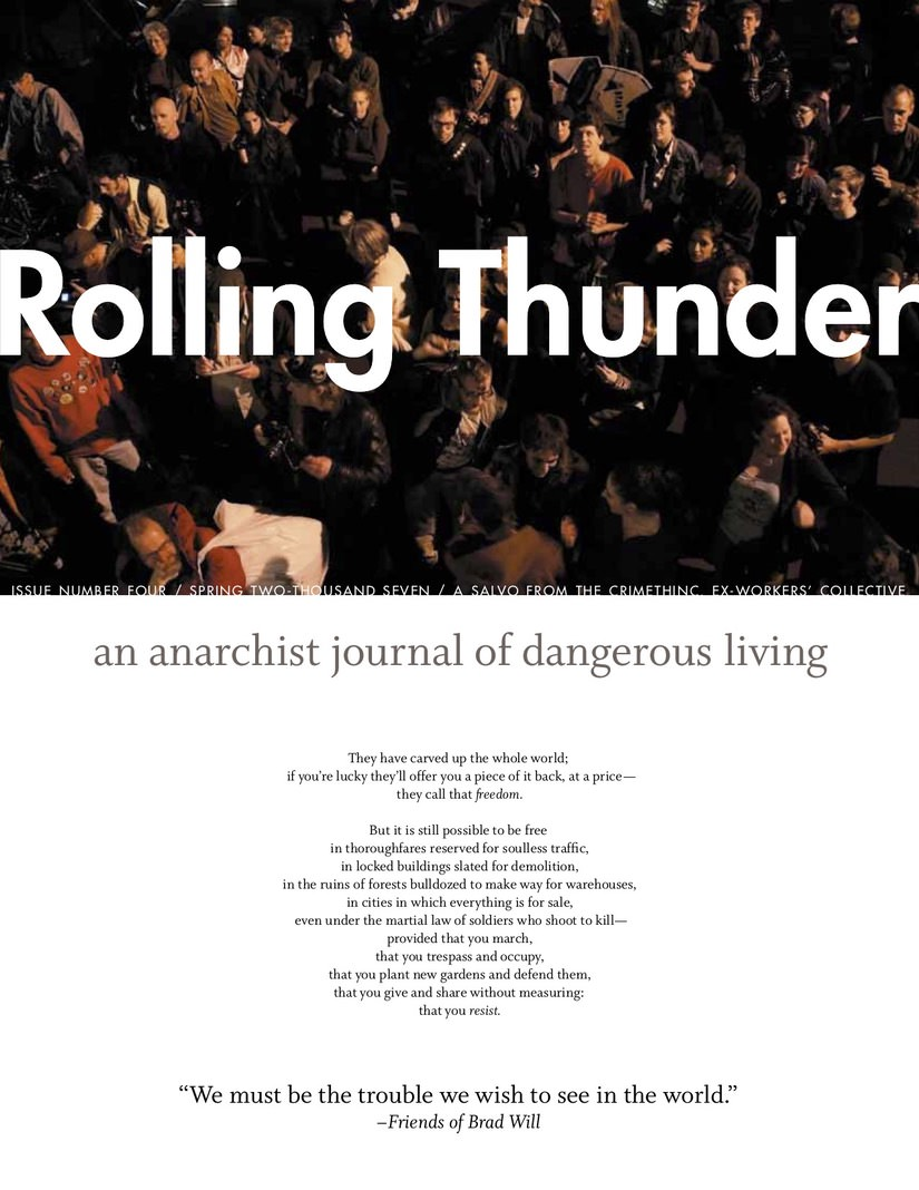 Photo of 'Rolling Thunder #4' front cover