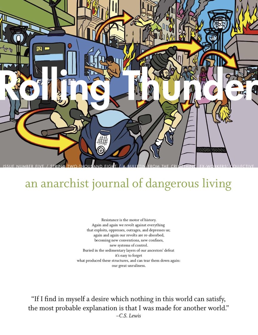 Photo of 'Rolling Thunder #5' front cover