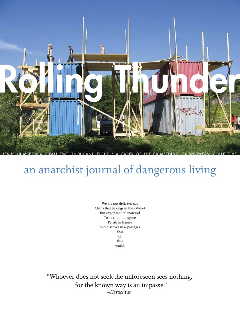 Photo of 'Rolling Thunder #6' front cover