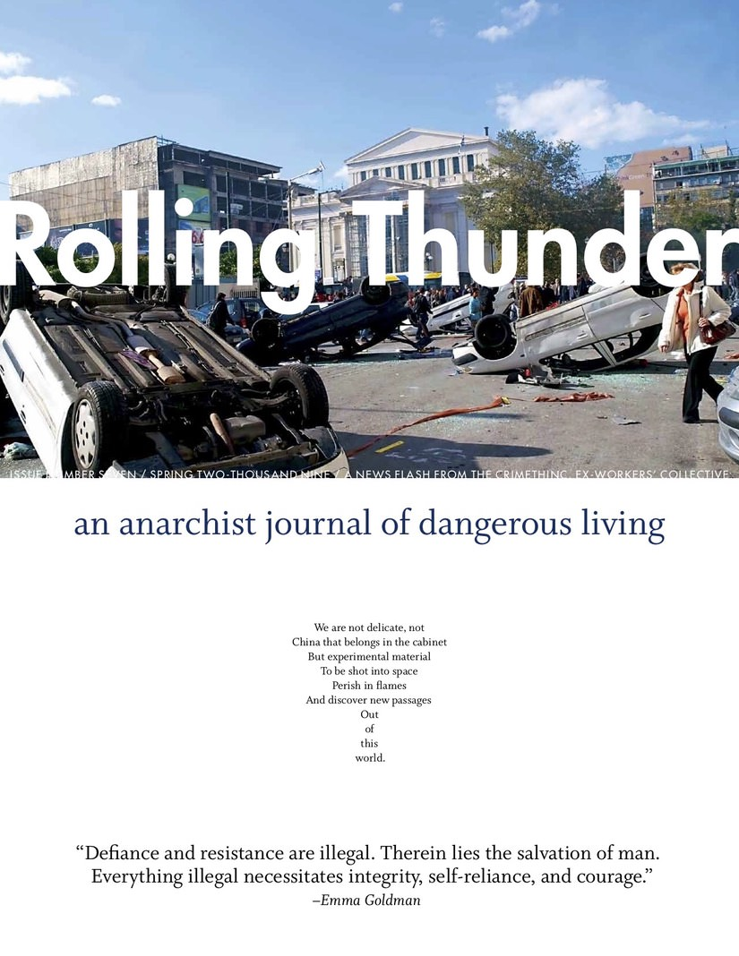 Photo of 'Rolling Thunder #7' front cover