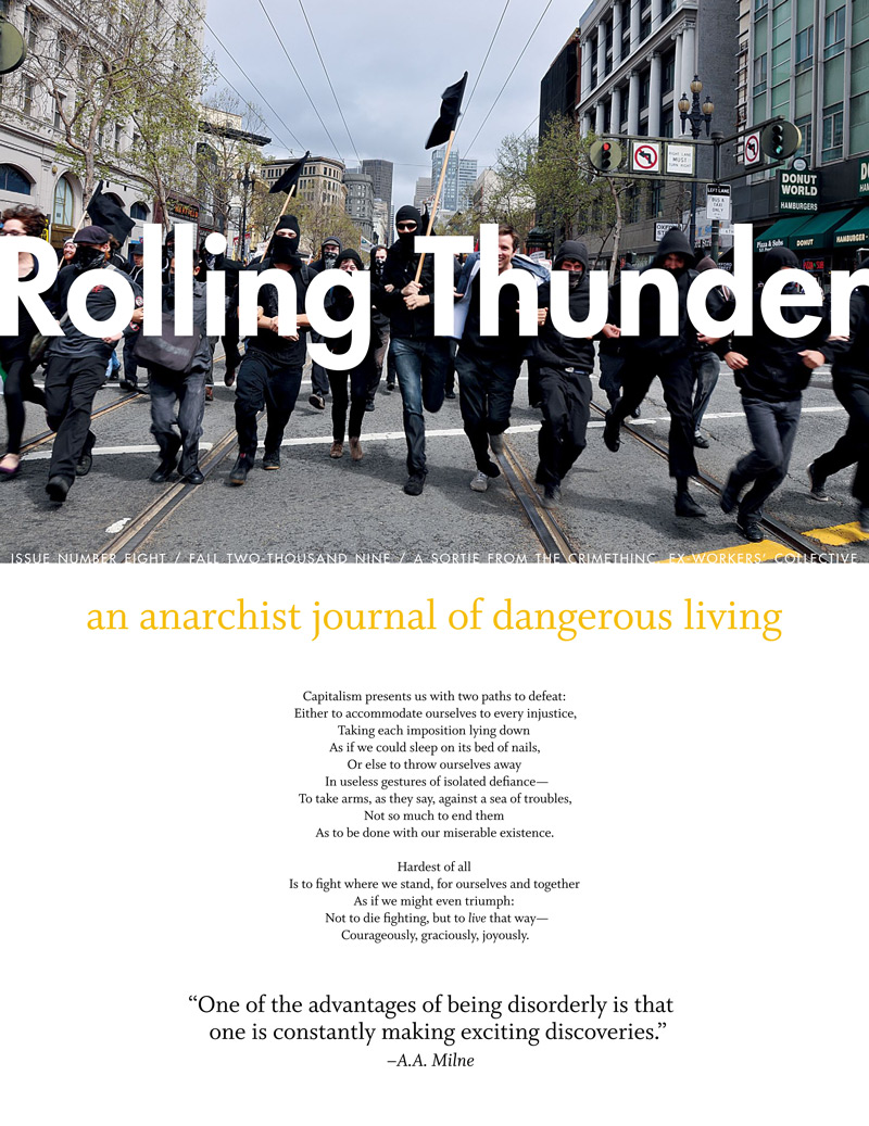 Photo of 'Rolling Thunder #8' front cover