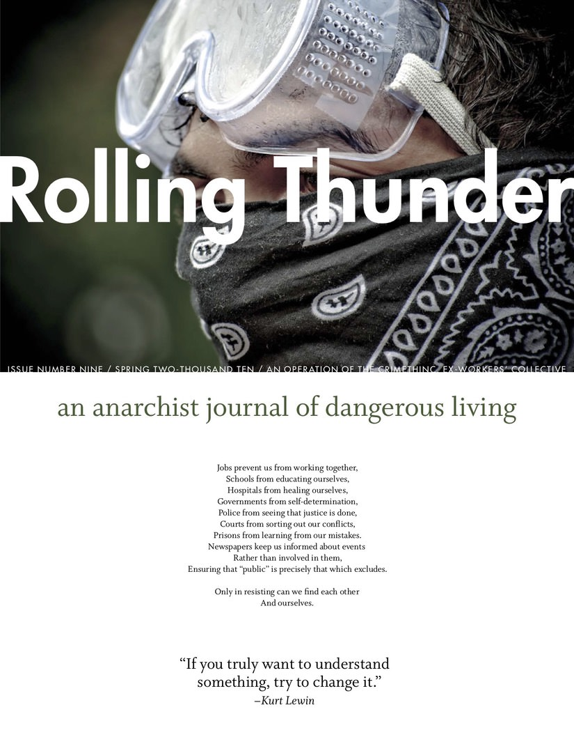 Photo of 'Rolling Thunder #9' front cover