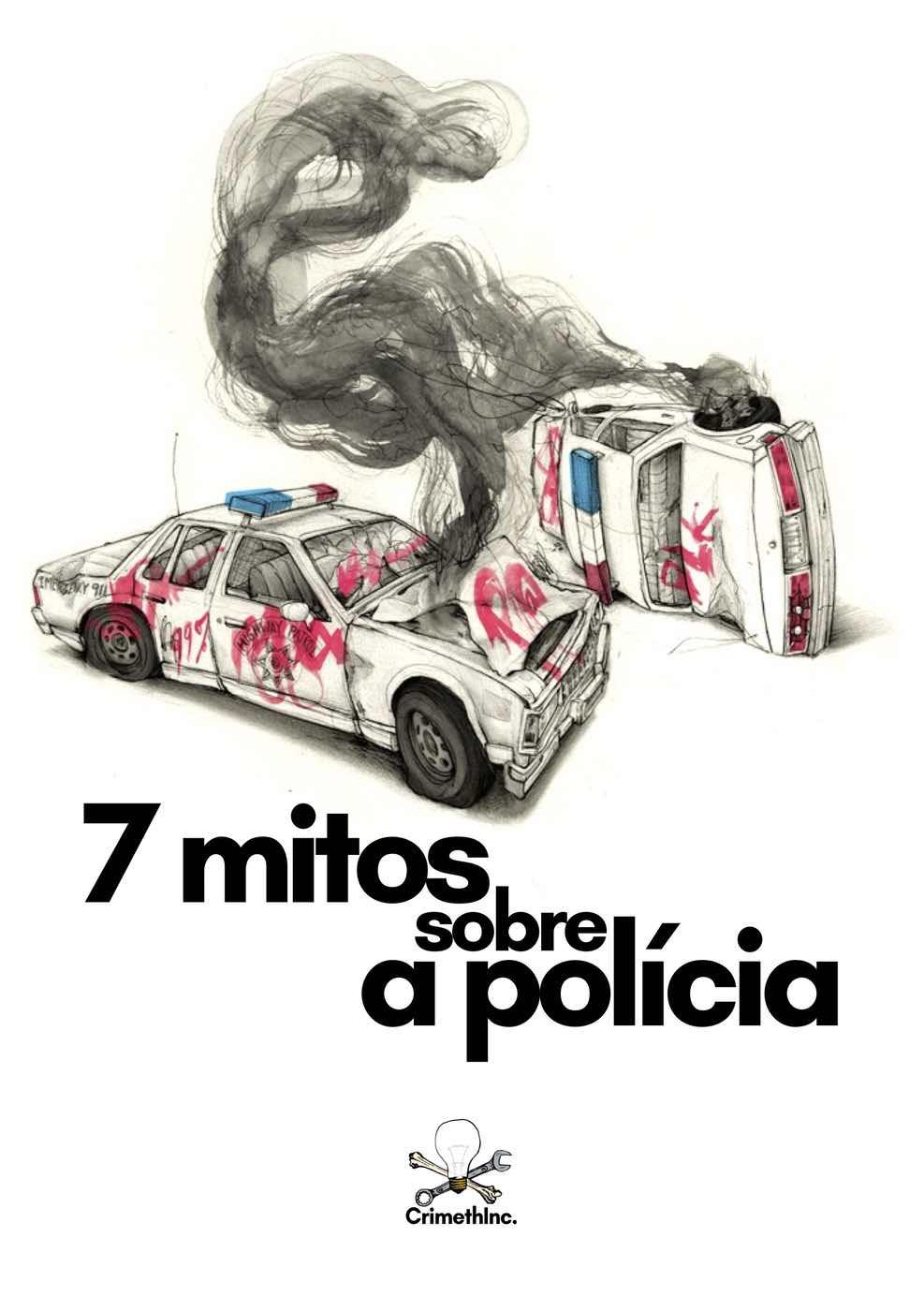 Photo of '7 mitos sobre a polícia (Portugues Brasileiro)' front cover
