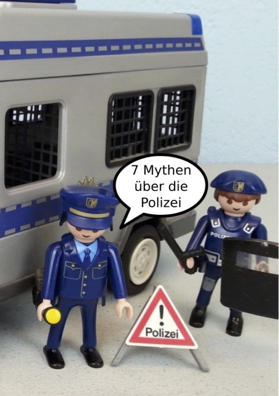 Photo of '7 Mythen über die Polizei' front cover