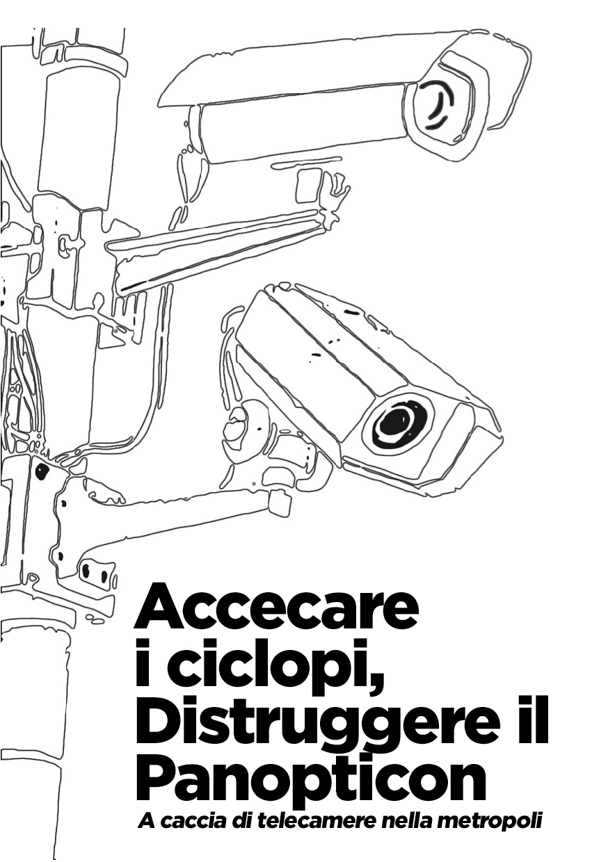 Photo of 'Accecare i ciclopi — Distruggere il Panopticon' front cover