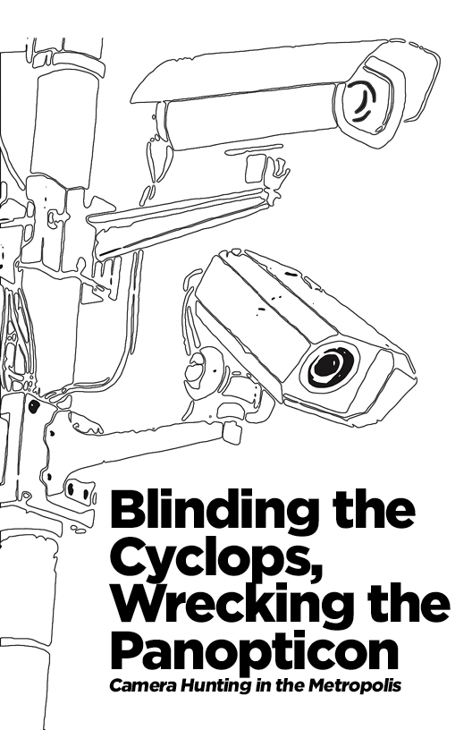 Photo of 'Blinding the Cyclops, Wrecking the Panopticon' front cover
