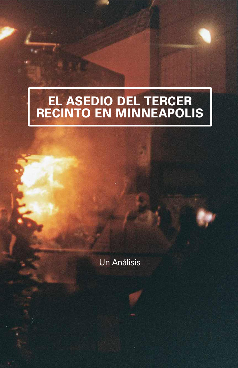 Photo of 'El asedio del Tercer Recinto en Minneapolis' front cover