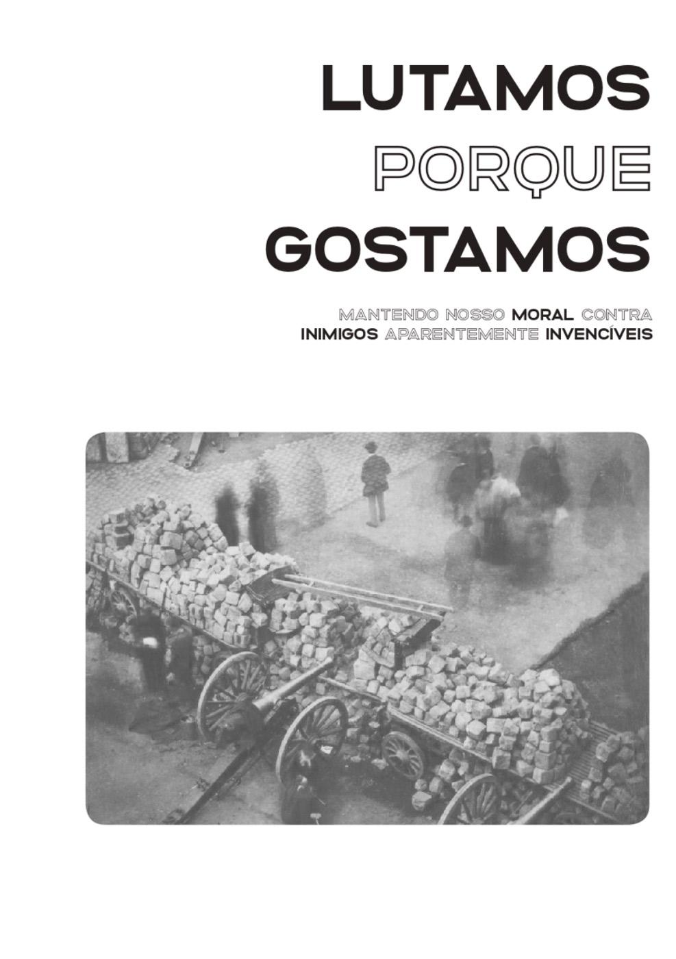 Photo of 'Lutamos porque gostamos' front cover