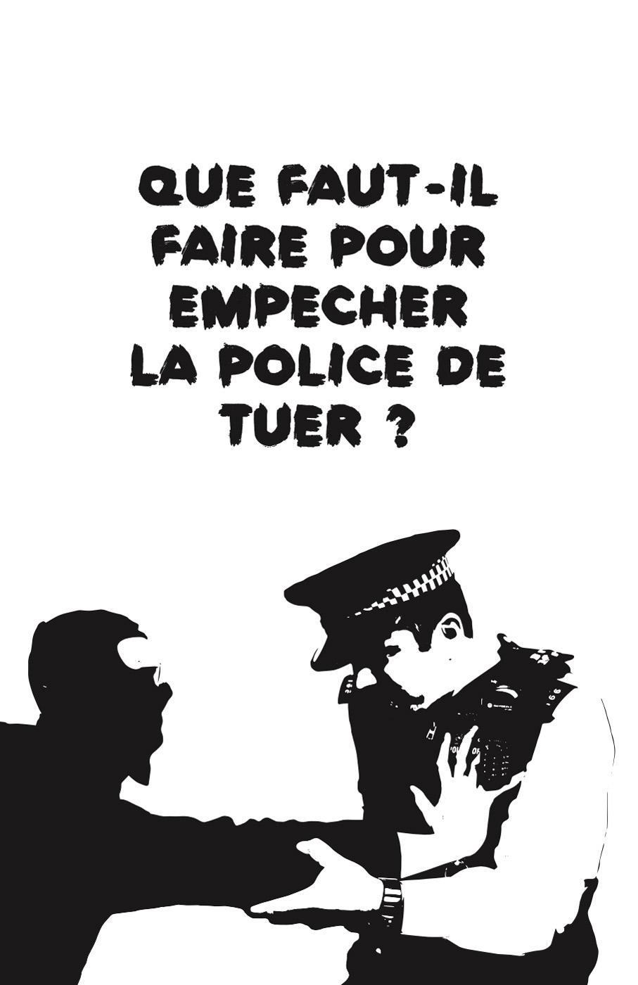 Photo of 'Que faut-il faire pour empêcher la police de tuer ?' front cover