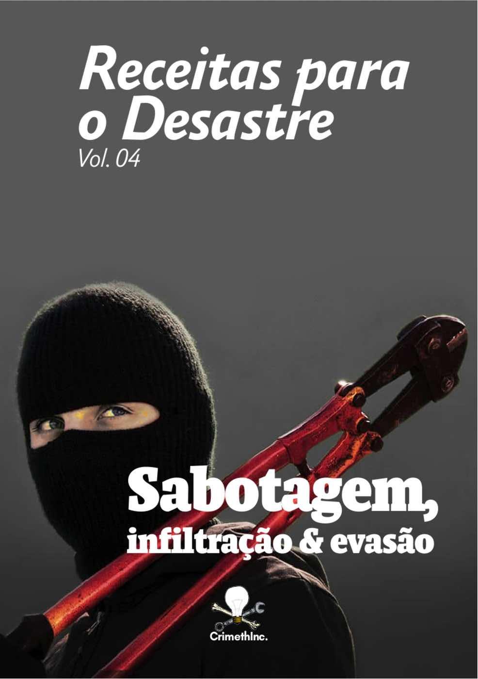 Photo of 'Receitas para o Desastre Vol. 04 (Portugues Brasileiro)' front cover