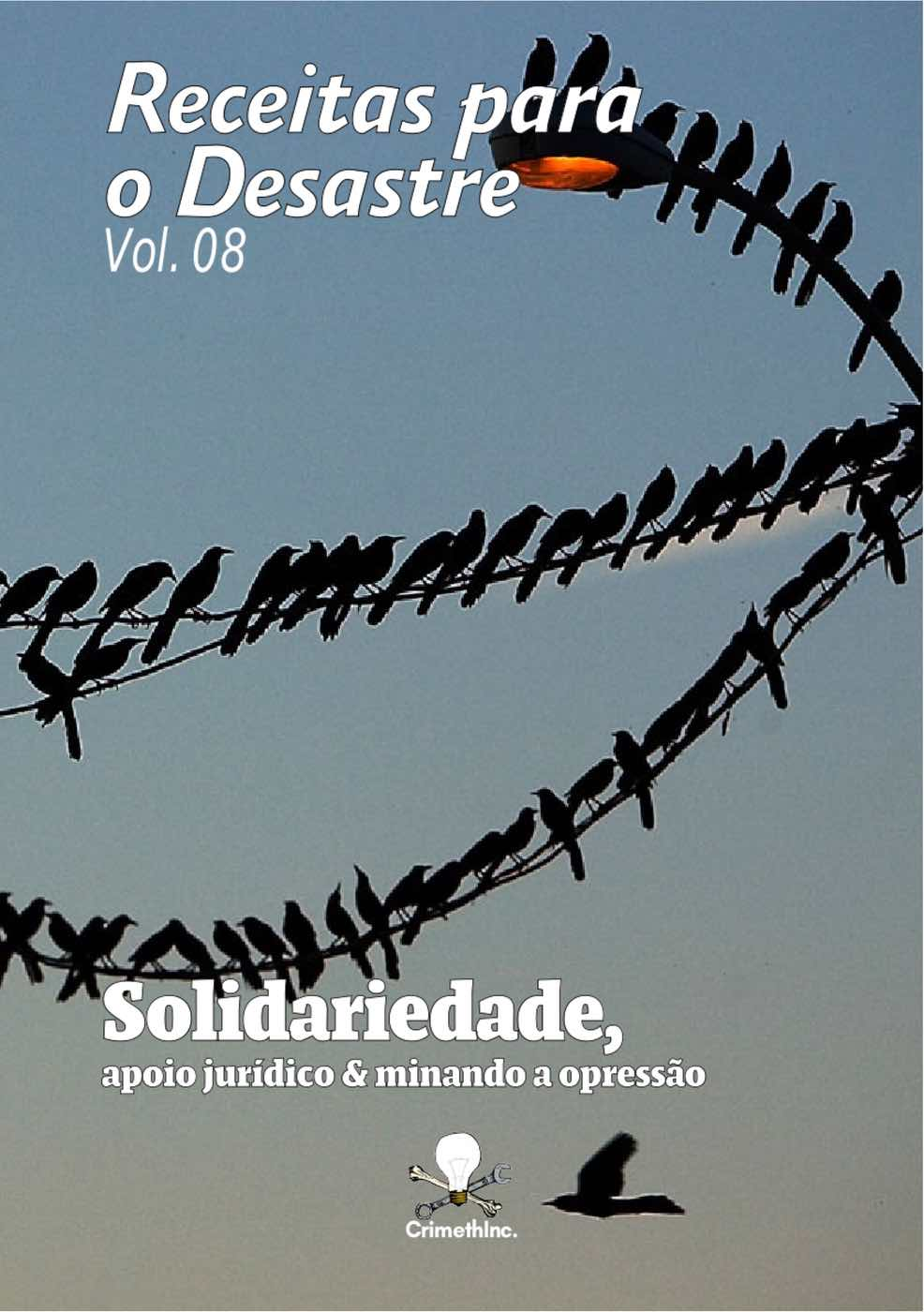 Photo of 'Receitas para o Desastre Vol. 08 (Portugues Brasileiro)' front cover