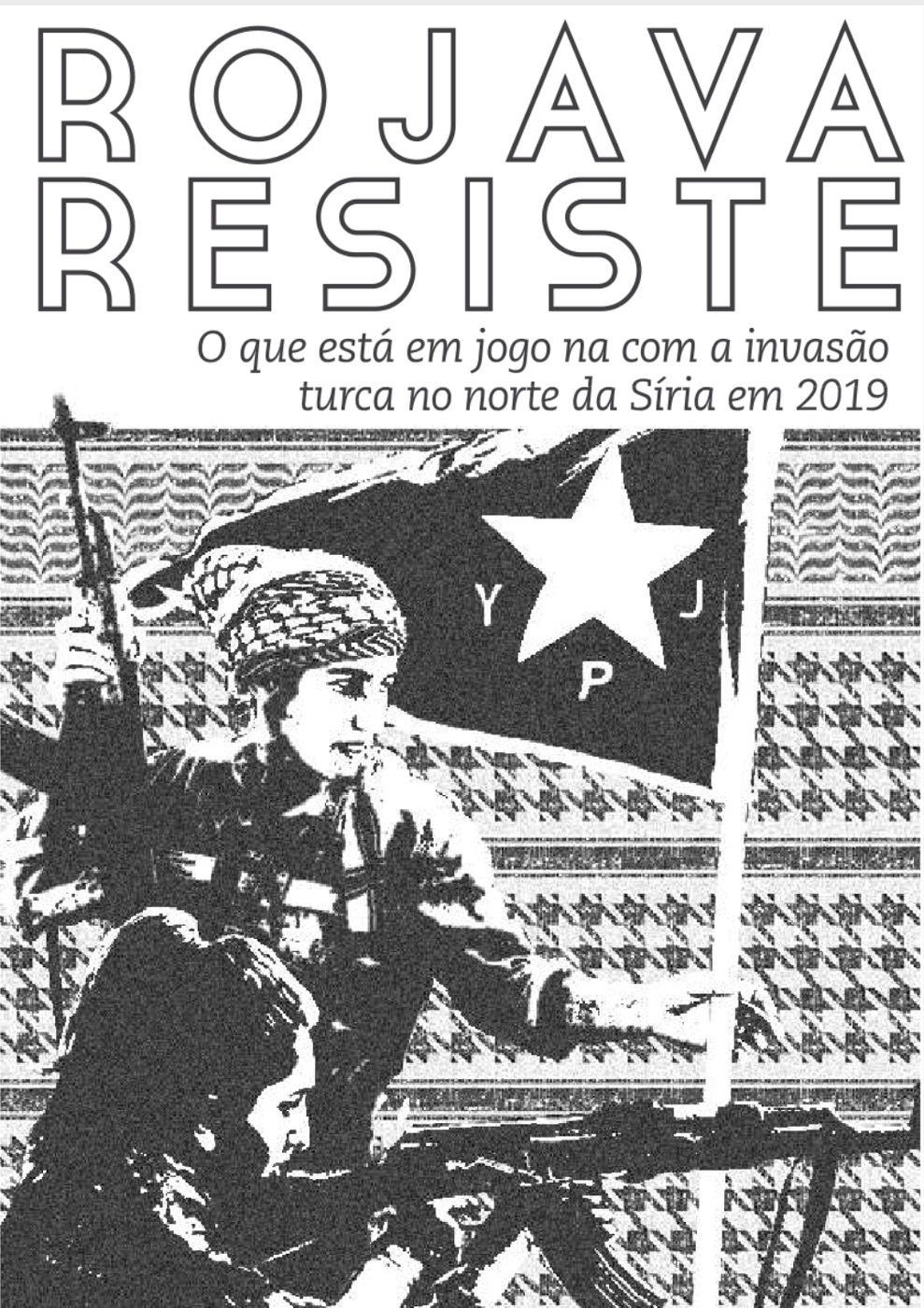 Photo of 'Rojava resiste' front cover