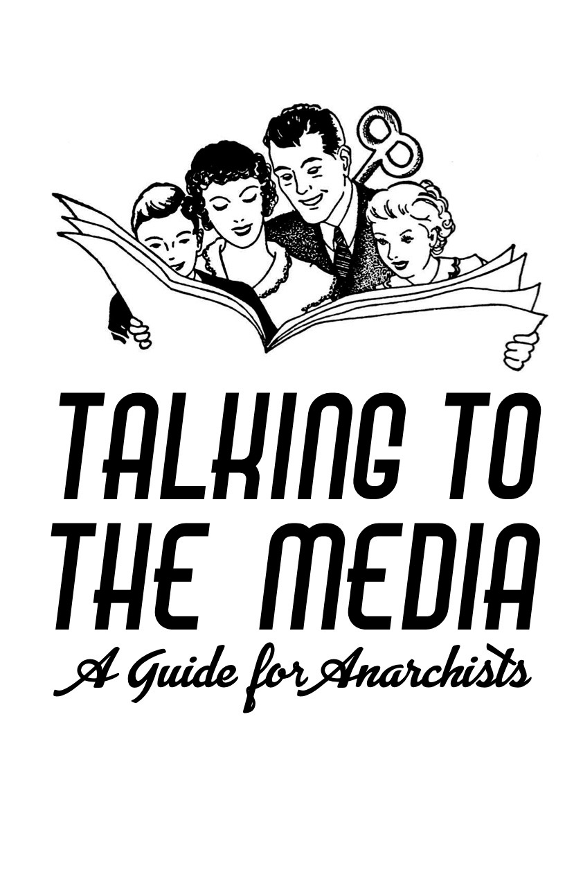 Photo of 'Talking to the Media' front cover