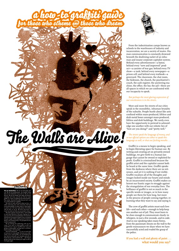 Photo of 'The Walls are Alive' front cover