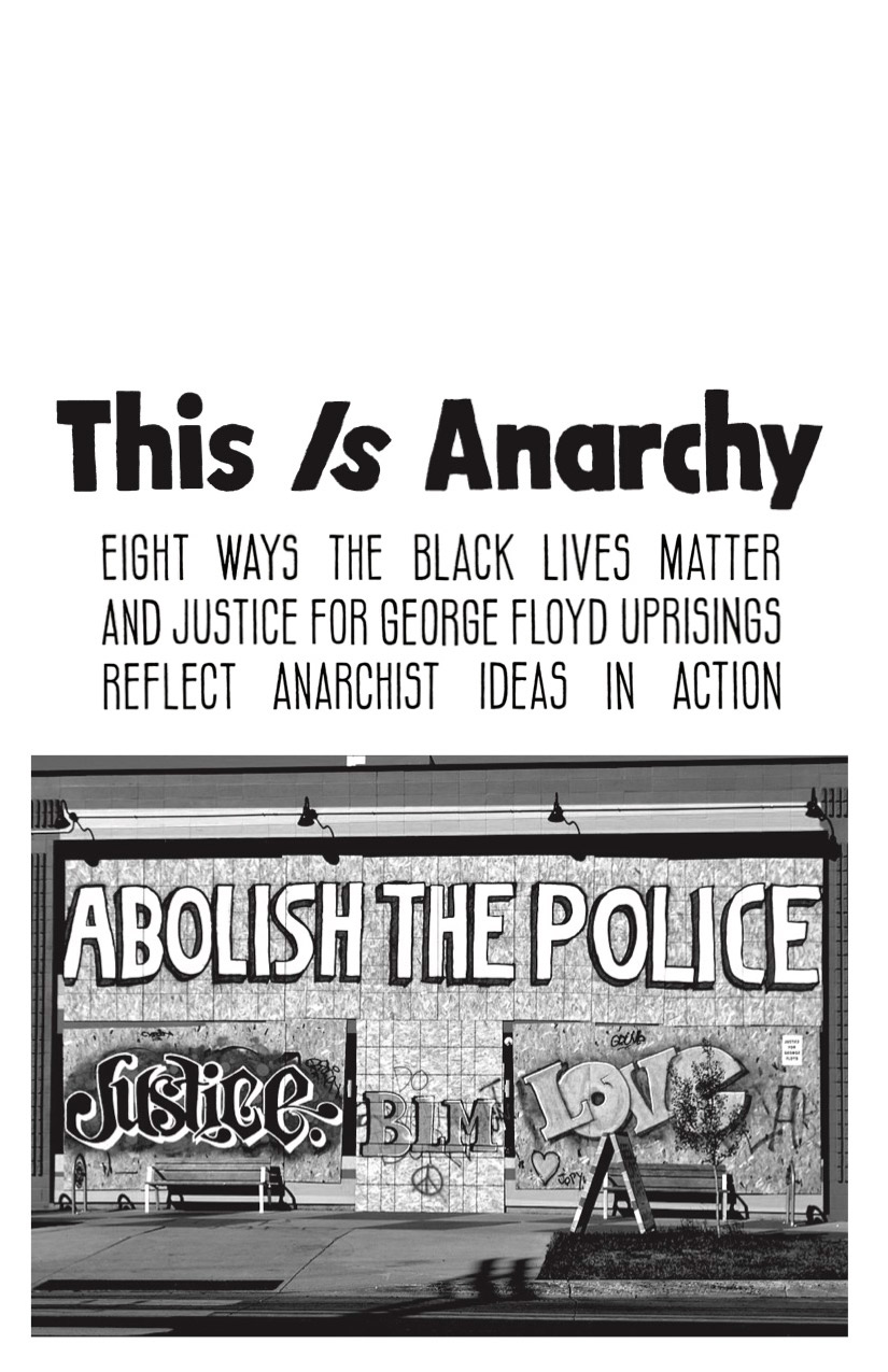 Photo of 'This is Anarchy' front cover