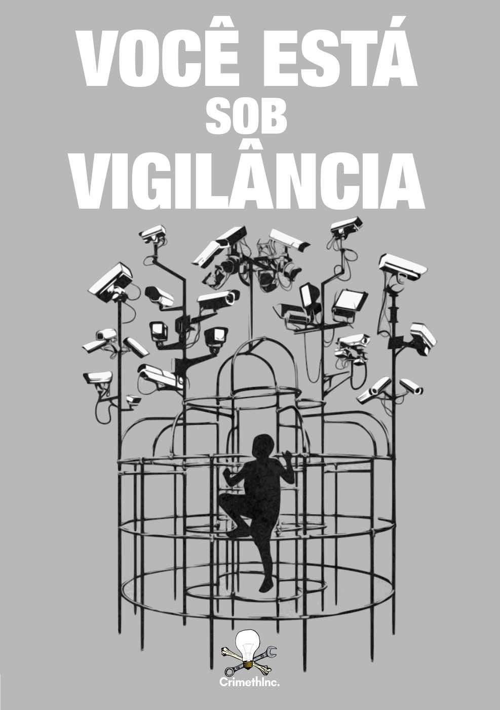 Photo of 'Você Está Sob Vigilância (Portugues Brasileiro)' front cover